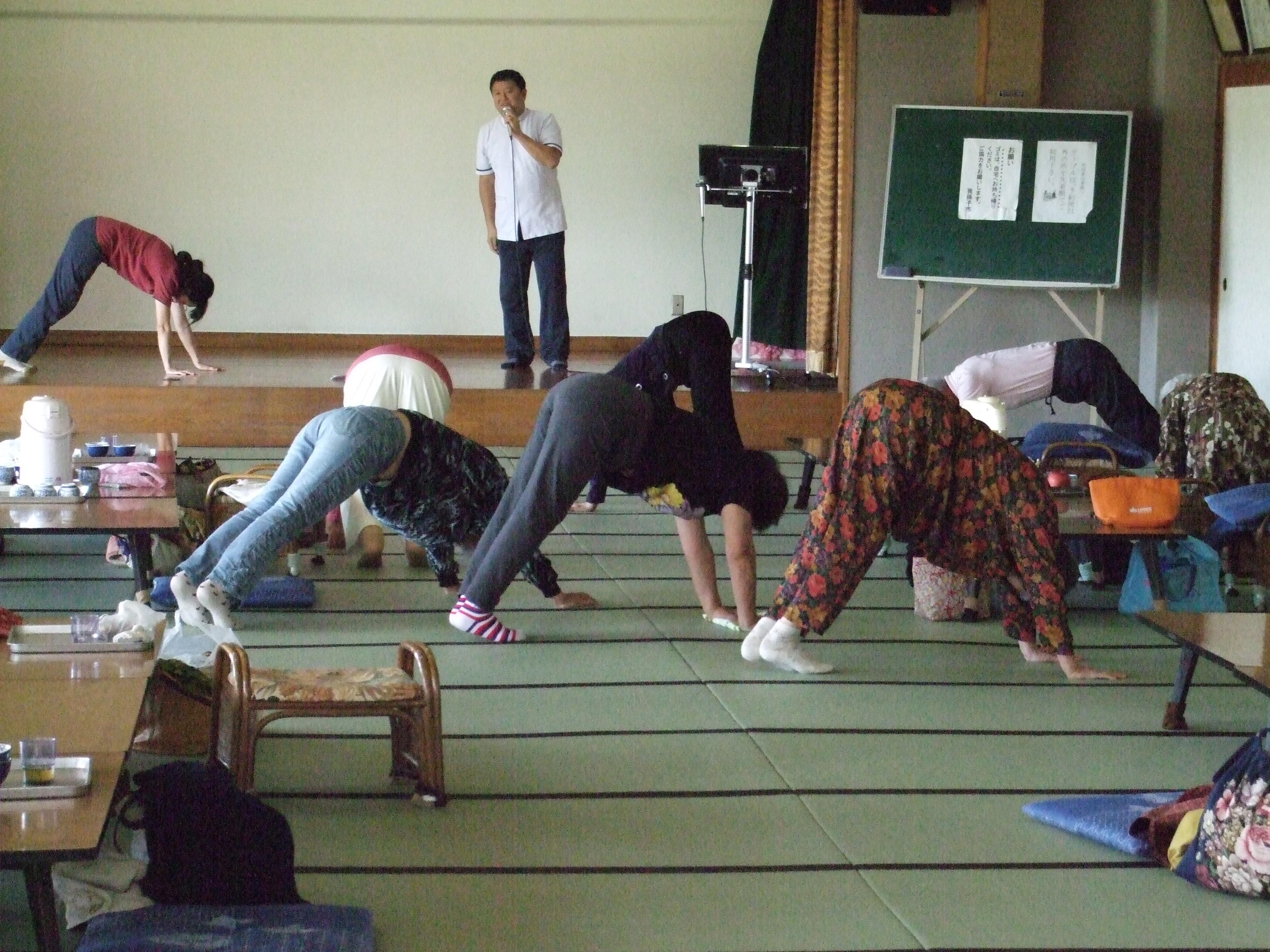 介護予防体操講習会2